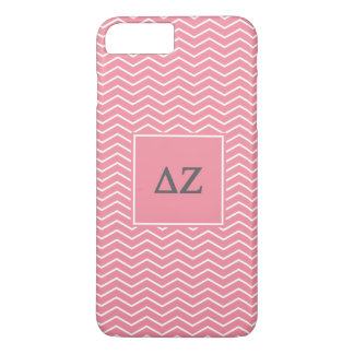 Coque iPhone 8 Plus/7 Plus Motif de Zeta | Chevron de delta