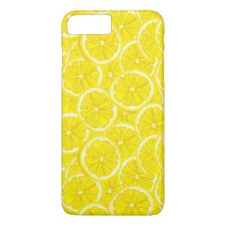 Coque iPhone 8 Plus/7 Plus Motif découpé en tranches de citron