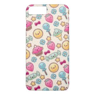Coque iPhone 8 Plus/7 Plus Motif d'enfant de Kawaii avec des griffonnages