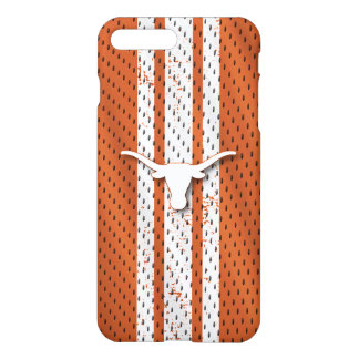 Coque iPhone 8 Plus/7 Plus Motif du Jersey de Longhorns de l'Université du