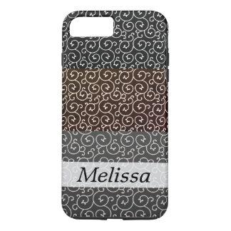 Coque iPhone 8 Plus/7 Plus motif élégant /layers de remous