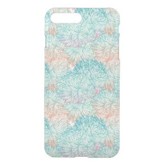 Coque iPhone 8 Plus/7 Plus Motif floral multicolore de griffonnage