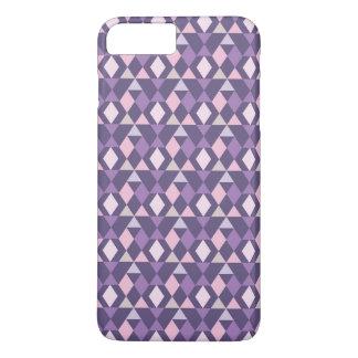 Coque iPhone 8 Plus/7 Plus Motif géométrique arabe pourpre