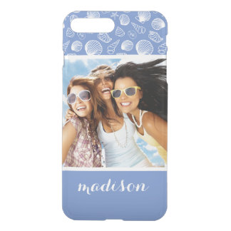 Coque iPhone 8 Plus/7 Plus Motif impertinent | de coquillage votre photo et