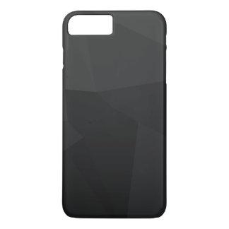 Coque iPhone 8 Plus/7 Plus Motif polygonal foncé