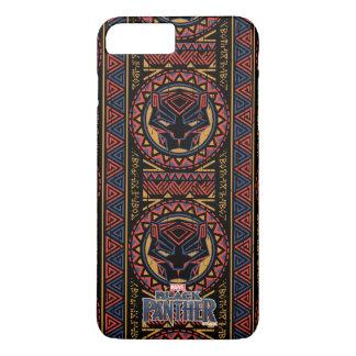 Coque iPhone 8 Plus/7 Plus Motif tribal de tête de panthère de la panthère