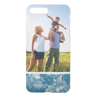 Coque iPhone 8 Plus/7 Plus Motif tropical de mer de photo faite sur commande