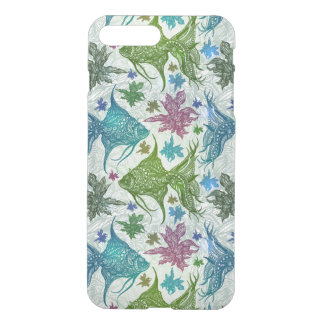 Coque iPhone 8 Plus/7 Plus Motif vintage de poissons