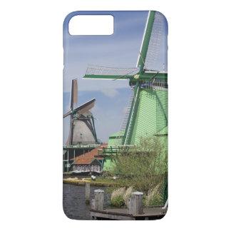 Coque iPhone 8 Plus/7 Plus Moulin à vent, Zaanse Schans, Hollande, Pays-Bas 2