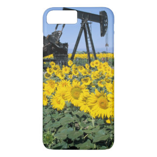 Coque iPhone 8 Plus/7 Plus Na, Etats-Unis, le Colorado, tournesols, huile