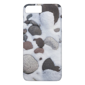 Coque iPhone 8 Plus/7 Plus Neige et roches, parc national de mont Rainier 2