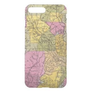 Coque iPhone 8 Plus/7 Plus Nouvelle carte de la Louisiane 3