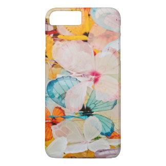 Coque iPhone 8 Plus/7 Plus Objet exposé de papillon