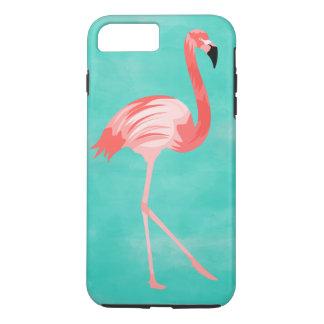 Coque iPhone 8 Plus/7 Plus Oiseau de flamant
