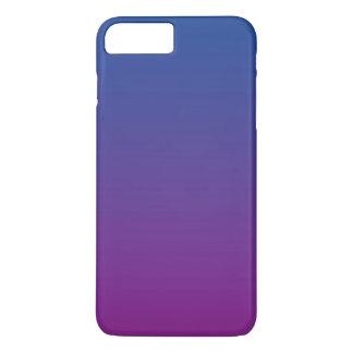 Coque iPhone 8 Plus/7 Plus Ombre bleu-foncé et pourpre