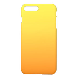 Coque iPhone 8 Plus/7 Plus Ombre jaune et orange