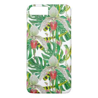 Coque iPhone 8 Plus/7 Plus Orchidées et floral
