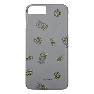 Coque iPhone 8 Plus/7 Plus Oscar le motif gris du rouspéteur |