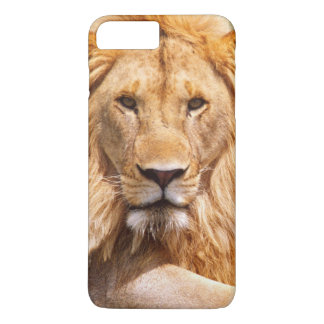 Coque iPhone 8 Plus/7 Plus Paires de lions africains, Panthera Lion, Tanzanie