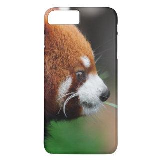 Coque iPhone 8 Plus/7 Plus Panda rouge