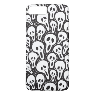 Coque iPhone 8 Plus/7 Plus Papier peint effrayant