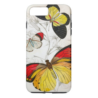 Coque iPhone 8 Plus/7 Plus Papillon chic
