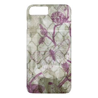 Coque iPhone 8 Plus/7 Plus Papillons d'arabesque IV