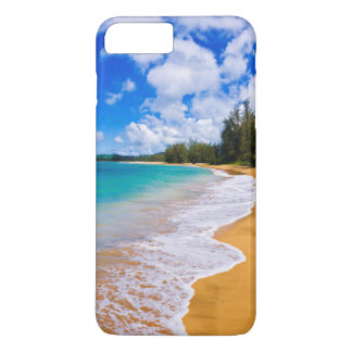 Coque iPhone 8 Plus/7 Plus Paradis tropical de plage, Hawaï