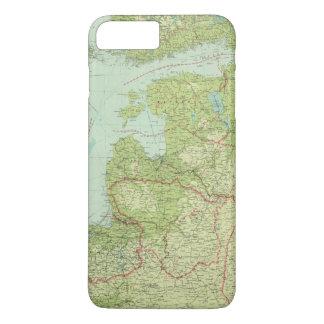 Coque iPhone 8 Plus/7 Plus Pays Baltes et la Prusse est