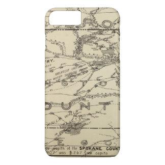 Coque iPhone 8 Plus/7 Plus Pays de Spokane