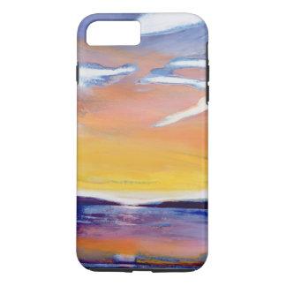 Coque iPhone 8 Plus/7 Plus Paysage marin de soirée