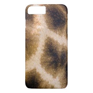 Coque iPhone 8 Plus/7 Plus Peau de girafe (Giraffa Camelopardalis)