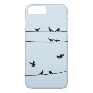 Coque iPhone 8 Plus/7 Plus Pegions sur le cas de téléphone de fil