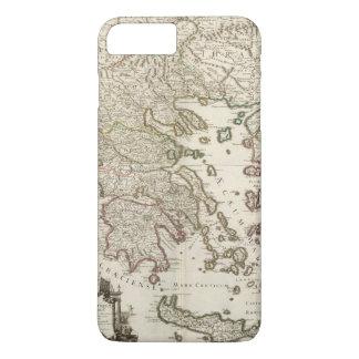 Coque iPhone 8 Plus/7 Plus Péninsule balkanique, Grèce, Macédoine