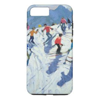 Coque iPhone 8 Plus/7 Plus Pente occupée Lofer 2004 de ski