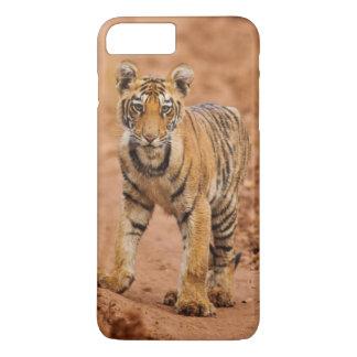 Coque iPhone 8 Plus/7 Plus Petit animal de tigre royal de Bengale sur le