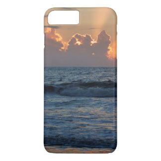 Coque iPhone 8 Plus/7 Plus Plage des Etats-Unis, la Géorgie, île de Tybee,