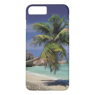 Coque iPhone 8 Plus/7 Plus Plage tropicale, Anse Sourse D'Argent, La Digue