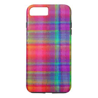 Coque iPhone 8 Plus/7 Plus Plaid lumineux