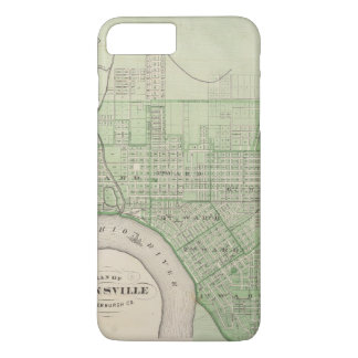 Coque iPhone 8 Plus/7 Plus Plan d'Evansville, Vanderburgh Co