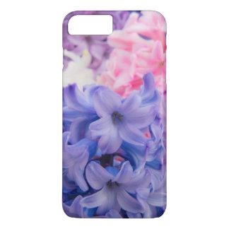 Coque iPhone 8 Plus/7 Plus Plan rapproché de plante de jacinthe
