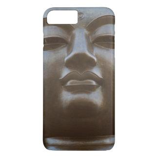 Coque iPhone 8 Plus/7 Plus Plan rapproché de statue de Bouddha