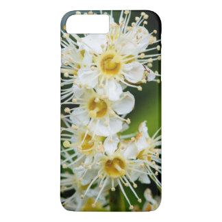 Coque iPhone 8 Plus/7 Plus Plan rapproché des fleurs minuscules