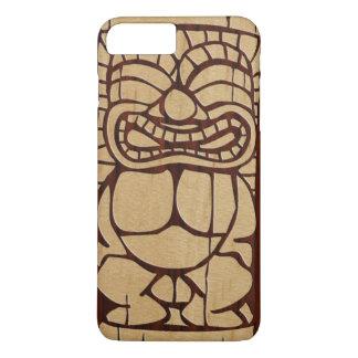 Coque iPhone 8 Plus/7 Plus Planche de surf en bois de Koa Tiki Ailani