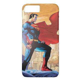 Coque iPhone 8 Plus/7 Plus Planète quotidienne de Superman