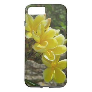 Coque iPhone 8 Plus/7 Plus Plumeria hawaïen