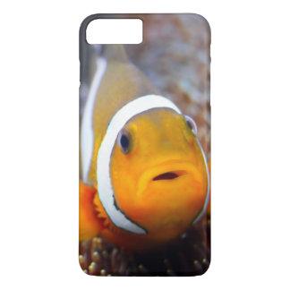 Coque iPhone 8 Plus/7 Plus Poissons tropicaux de récif - Clownfish