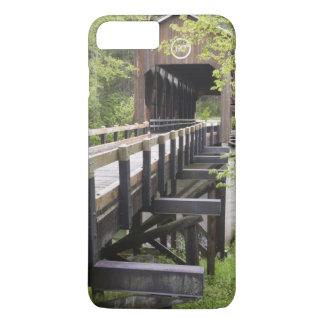 Coque iPhone 8 Plus/7 Plus Pont couvert de McKee, Jacksonville, Orégon