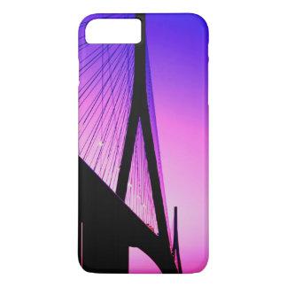 Coque iPhone 8 Plus/7 Plus Pont de la Normandie, le Havre, France