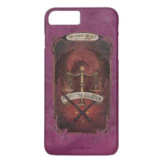 Coque iPhone 8 Plus/7 Plus Porpentina Goldstein M.A.C.U.S.A. Graphique